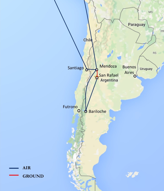 Argentina AGD Consulting LLC - Argentina agriculture map