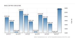 Brazilian GDP from Agriculture